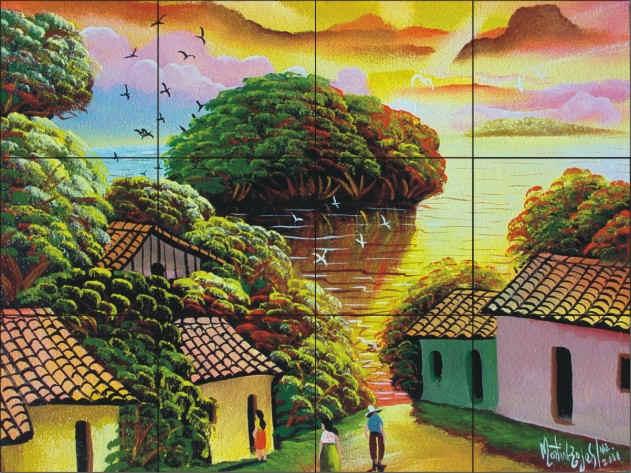 San jaun del sur for Mural nicaraguense